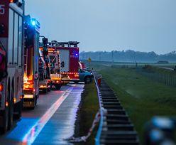 Wypadek na trasie S1 w Sosnowcu. Zderzyło się pięć aut. Są ranni
