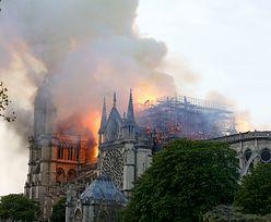 Turysta wykonał zdjęcie polskiej kaplicy w Notre Dame. Chwilę później wybuchł pożar