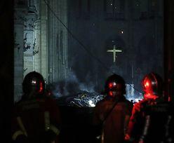 Pożar katedry Notre Dame. Pierwsze zdjęcia ze środka świątyni