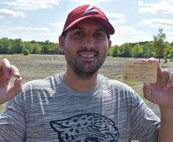 Nauczyciel znalazł diament o wadze 2,12 karata w parku w Arkansas