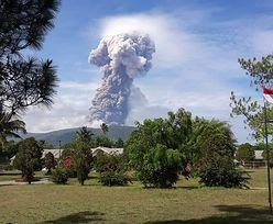 Wybuch wulkanu w Indonezji. Na wyspie, w którą uderzyło tsunami