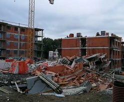 Bielsko-Biała. Katastrofa budowlana. Nowy budynek w gruzach