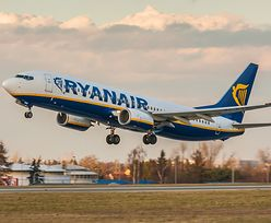 Ryanair wśród największych trucicieli powietrza. Jest jak elektrownia węglowa