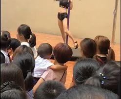 Chiny: Dyrektorka przedszkola zwolniona po zaproszeniu pole dancerki