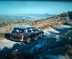 BMW X7 - nowy konkurent dla Mercedesa GLS. Robi wrażenie