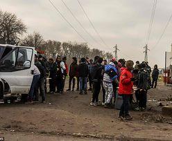 Starcia imigrantów w Calais.  Padły strzały, jest kilkunastu rannych