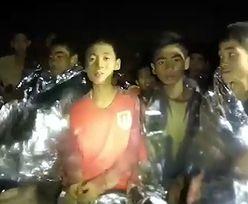Jaskinia Tham Luang: Nowe nagranie uwięzionej drużyny. Czeka ich trudne zadanie