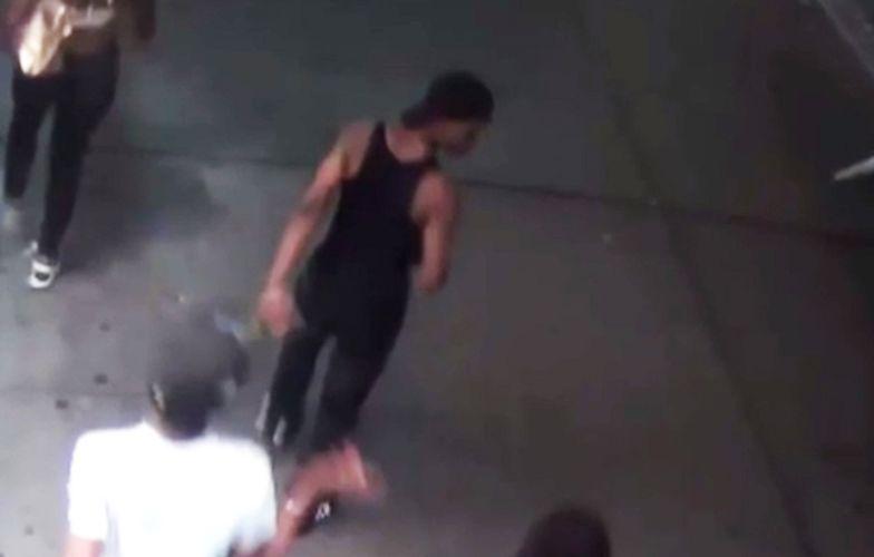 Podpalił kobietę w hidżabie. Szuka go policja