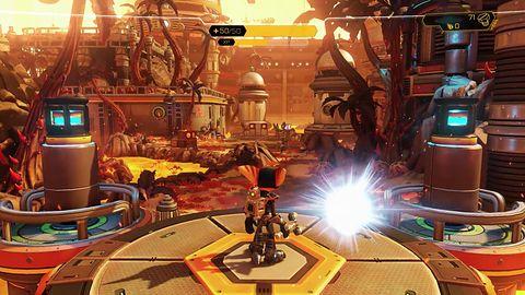 Odwiedź stare śmieci na nowym gameplayu z Ratchet & Clank na PS4