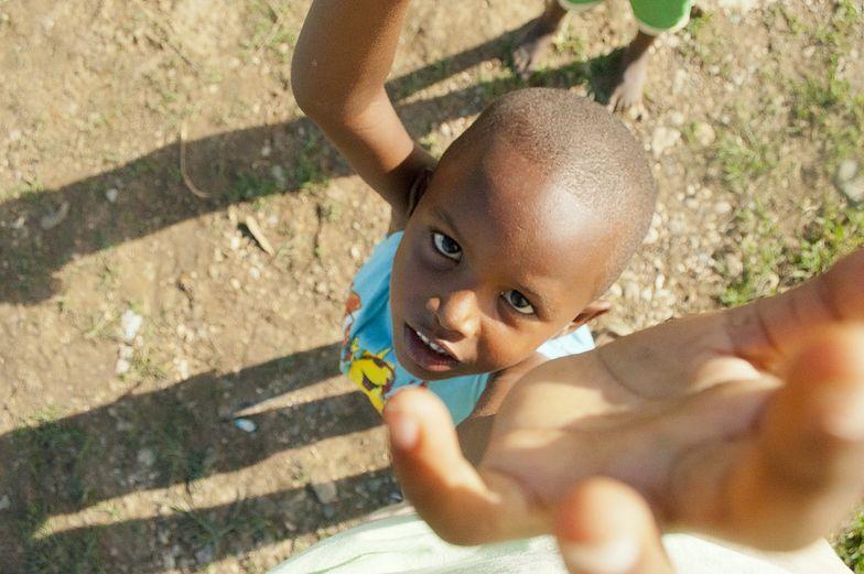 Dominikański chłopiec.
