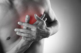 Sygnał ostrzegający przed zawałem serca