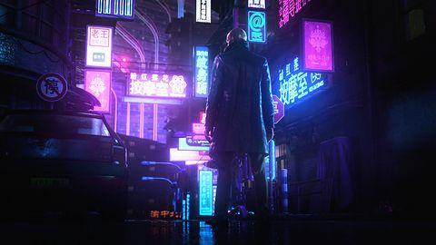 Piękny Hitman 3 w akcji. I w cyberpunkowym sosie