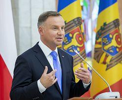 Wpadka Andrzeja Dudy. Obsztorcowała go prezydent Mołdawii
