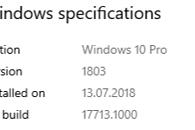 Oszaleli na punkcie rozwoju Microsoft Edge, czyli Windows 10 w kompilacjach 17711 oraz 17713 - Zapomniałem drugiego zrzutu zrobić przed instalacją :c