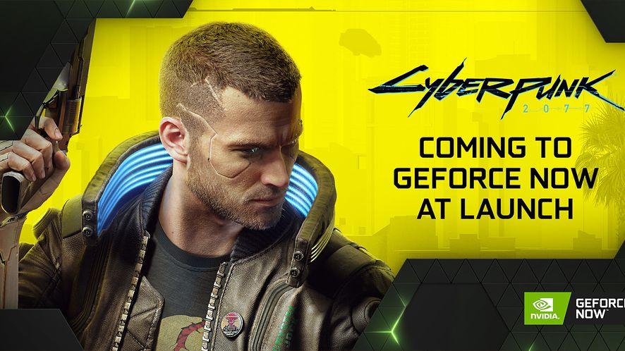 Cyberpunk 2077 zagości w usłudze GeForce Now (fot. NVIDIA GeForce NOW @ Twitter)