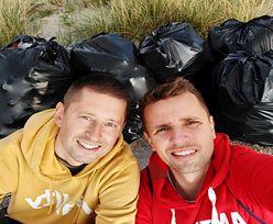 Ta para zrobiła dobry uczynek. Zebrali 900 kg śmieci