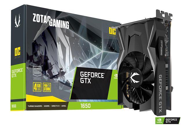GeForce GTX 1650 w wydaniu firmy Zotac. Fot. Materiały prasowe