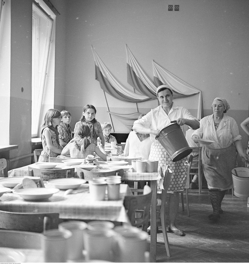 Dzieci wiejskie odpoczywały... w Warszawie