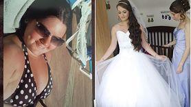 Schudła, żeby zmieścić się w wymarzoną suknię ślubną