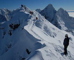 Mężczyźni spadali przez kilkaset metrów. Groźne wypadki w Tatrach!