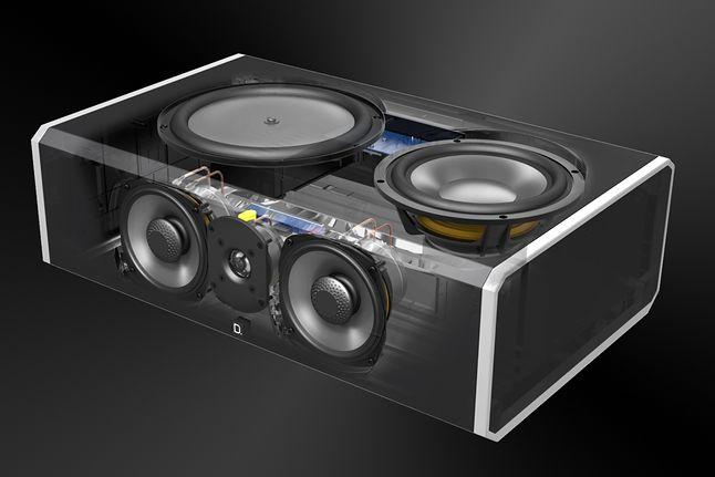 Topowe konstrukcje głośników centralnych są bardzo zaawansowane (zdjęcie: Definitive)