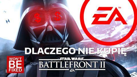 Kosmiczna katastrofa, czyli o tym dlaczego nie kupię Star Wars Battlefront 2? - VLOG