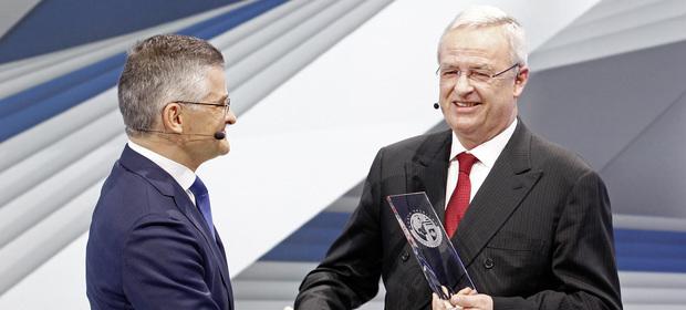 Były szef amerykańskiego oddziału VW Michael Horn i były prezes VW AG Martin Winterkorn