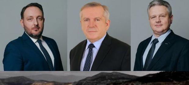 Do tej trójki w zarządzie KGHM dołączy jeszcze pięć osób