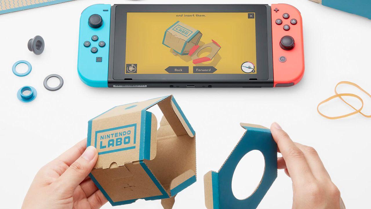 Nintendo Labo - złóż własną recenzję (Variety Kit)