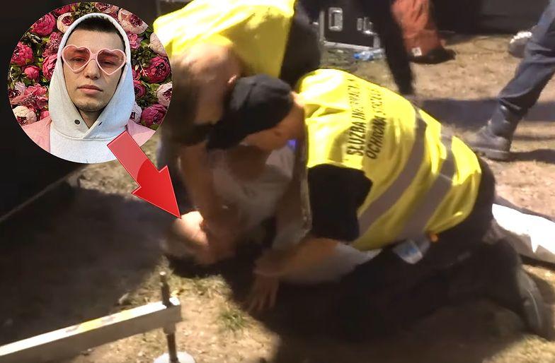 Organizatorzy koncertu potępili zachowanie ochroniarzy w stosunku do Żabsona