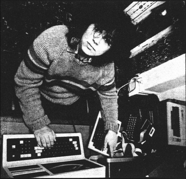 Matthew Smith i jego TRS-80 model 3