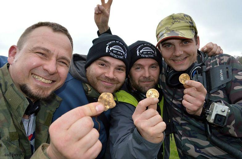 Polacy odkryli skarb w Wielkiej Brytanii. Jest wart 150 tys. funtów