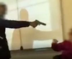 """Groził nauczycielce bronią. """"To był tylko żart'"""