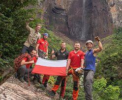 Polacy zdobyli najwyższy wodospad świata. Pokazali niesamowite nagranie