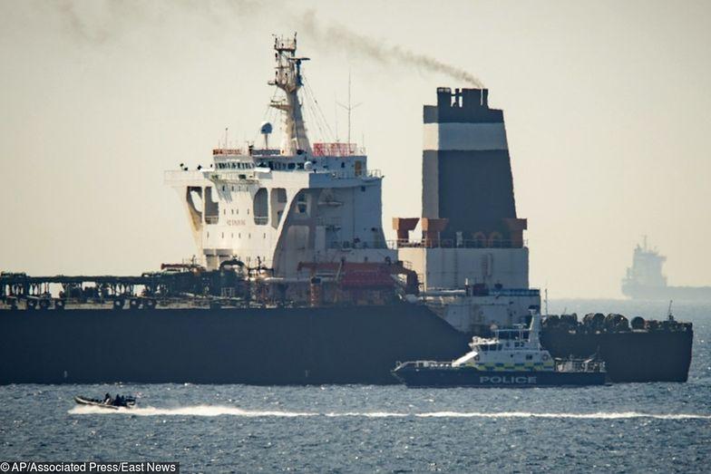 Gibraltar. Wielka Brytania zwróci statek Iranowi. Stawia jeden warunek