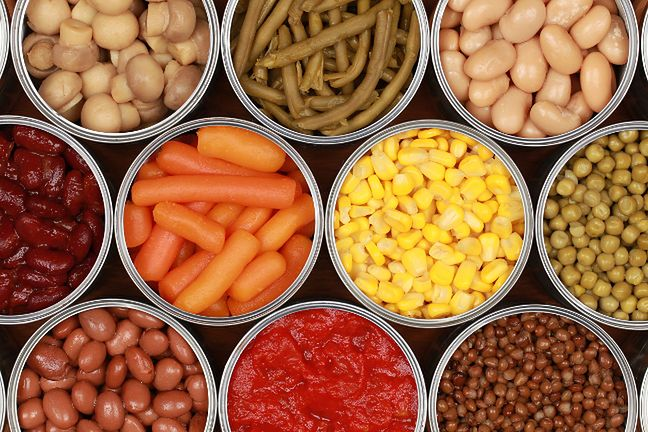 Konserwy warzywne
