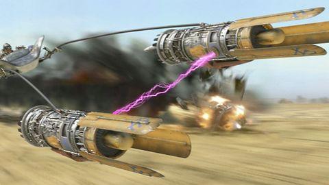 Ej, a graliście w... Star Wars Episode I: Racer?