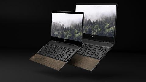 HP na Computex 2019: nowe notebooki Envy wykończono prawdziwym drewnem