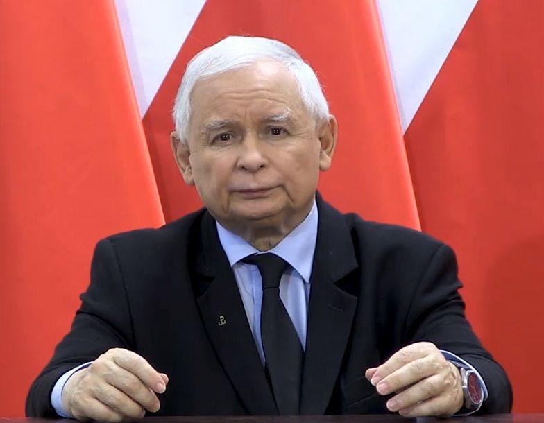 Wyrok Trybunału Konstytucyjnego. Jarosław Kaczyński wreszcie przemówił