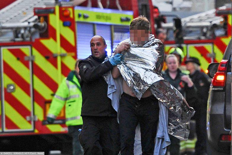 Zamach w Londynie. Polak bohaterem na wyspach