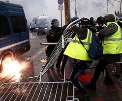 """Zamieszki w Paryżu. """"Gaz łzawiący i latające kamienie"""""""