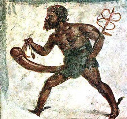 Starożytny fresk