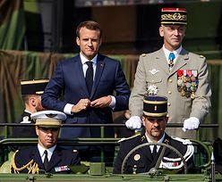 """Macron wzywa do stworzenia europejskiej armii. """"Przeciwko Rosji i USA"""""""