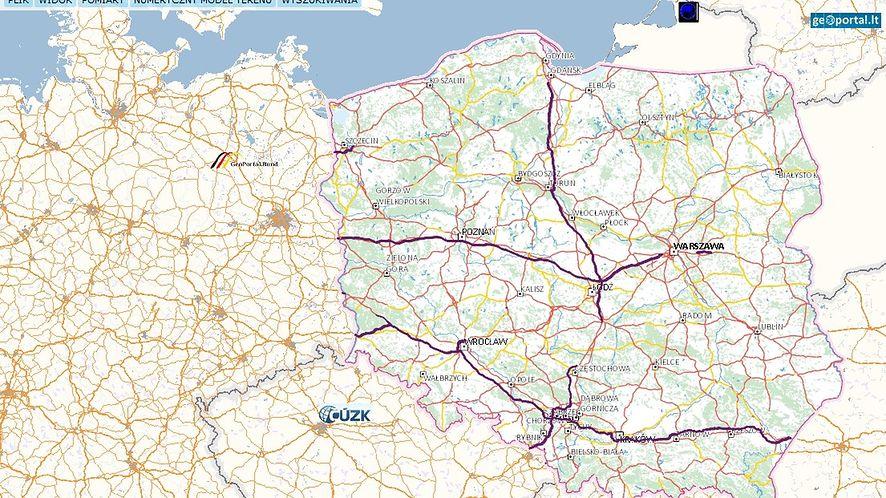 Mapa/Geoportal