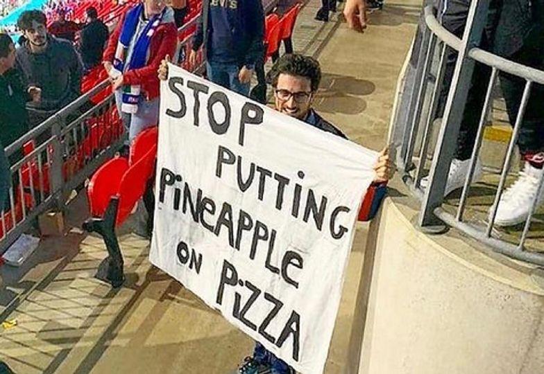 Rozpaczliwy apel na Euro, poszło o... pizzę! Nawet Wieniawa to skomentowała