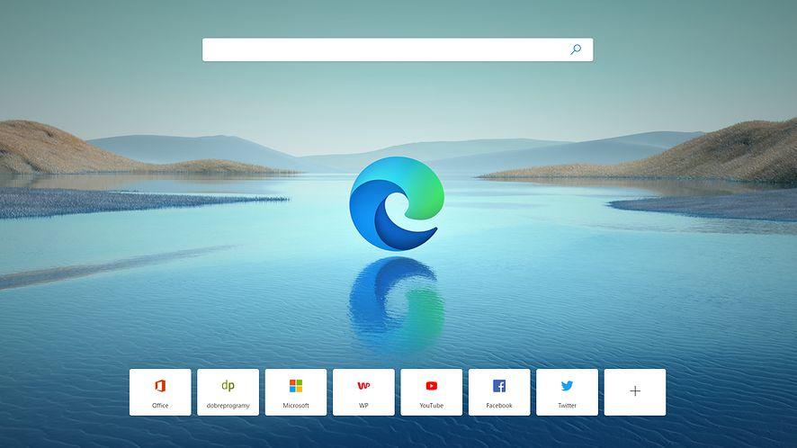 Windows 10 zaczyna reklamować Edge'a, fot. Oskar Ziomek