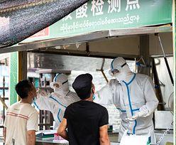 Chiny zamykają miasto. Nowe ognisko koronawirusa w Rulli