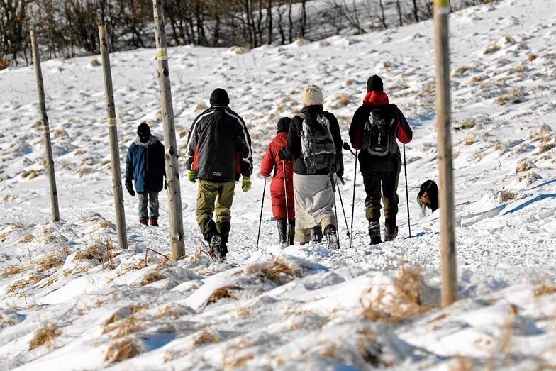 Turyści wybrali się na wycieczkę w Bieszczady. Zgubili się