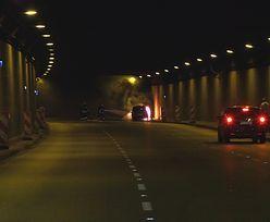 Pożar w tunelu Wisłostrady. Ogromne korki