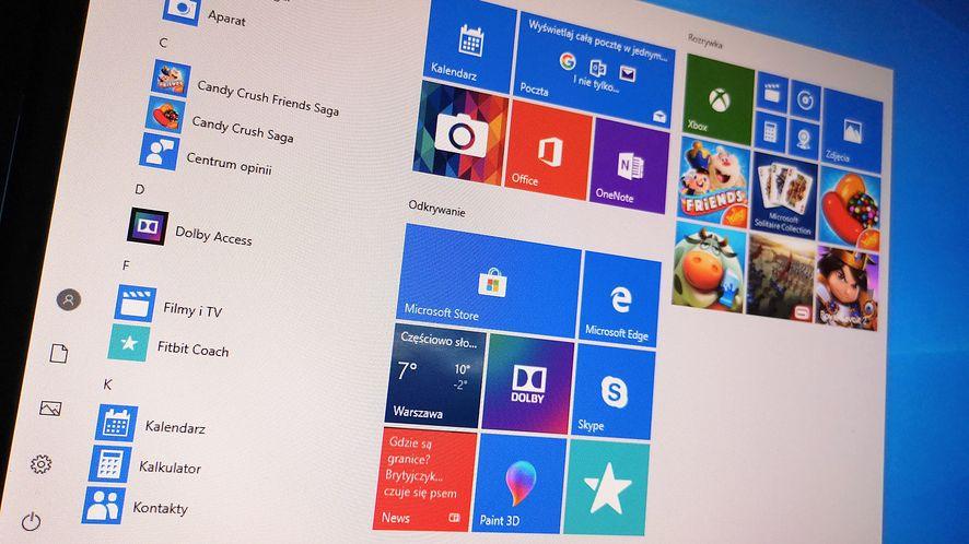 Windows 10 20H2 nie przyniesienie wielu nowych funkcji, fot. Oskar Ziomek